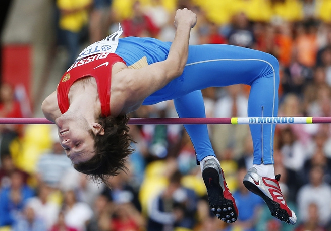 Олимпийский чемпион по прыжкам в высоту Лондона Иван Ухов занял четвертое место