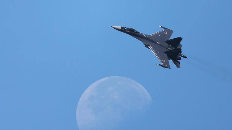 Многоцелевой истребитель Су-35. Фото ИТАР-ТАСС/ Марина Лысцева
