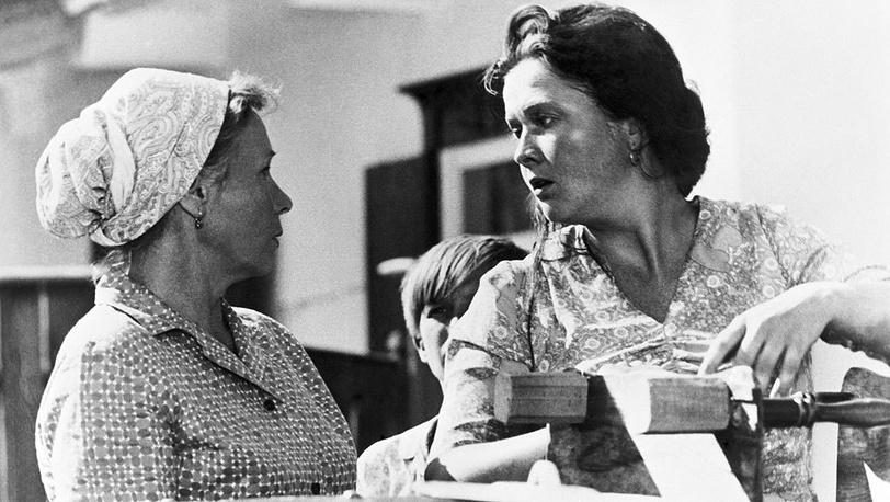 """Фильм """"Вас ожидает гражданка Никанорова"""", 1978. Фотохроника ТАСС"""