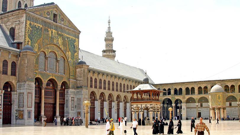 Вид на мечеть Омейядов. Фото ИТАР-ТАСС/Наталья Шевченко
