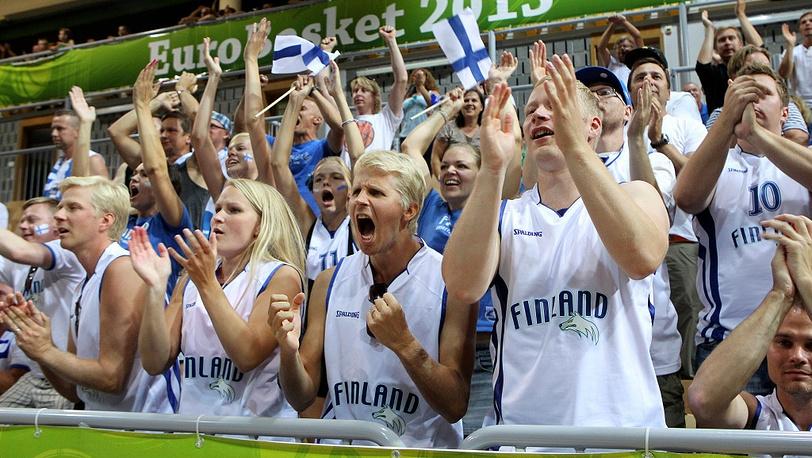 Финские любители баскетбола