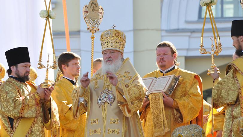 Патриарх Московский и всея Руси Кирилл. Фото ИТАР-ТАСС/ Юрий Белинский