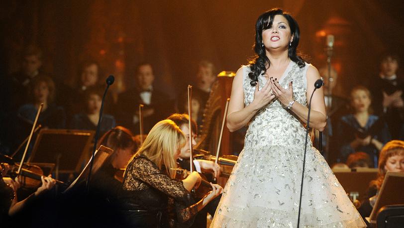 Певица Анна Нетребко. Фото ИТАР-ТАСС/ Руслан Шамуков
