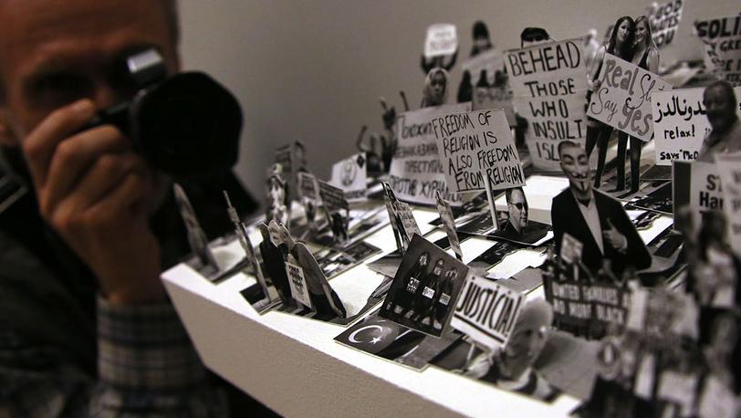 "Том Моллой. ""Протест"". Фрагмент. Фото ИТАР-ТАСС/Сергей Шахиджанян"