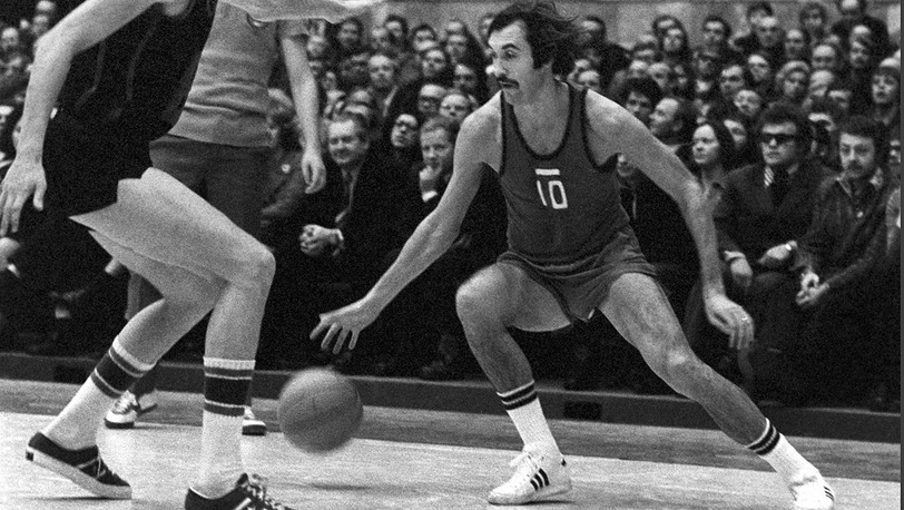 Баскетболист Сергей Белов, 1977 год. Фото ИТАР-ТАСС/ Игорь Уткин