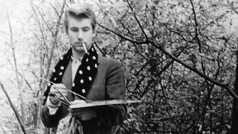 """А.Шилов на этюдах. 1964 г. ГБУК """"Галерея А. Шилова"""""""