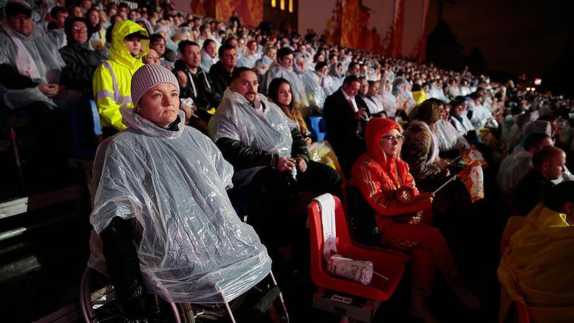 Праздничный концерт на Красной площади по завершении второго дня эстафеты Олимпийского огня. Фото ИТАР-ТАСС/ Михаил Метцель