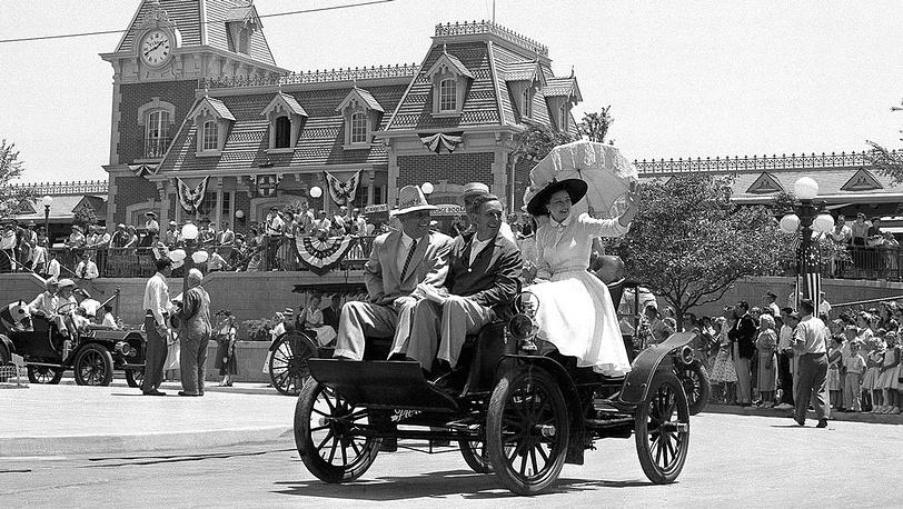 Открытие Диснейленда в Калифорнии. 1955 год. Фото AP