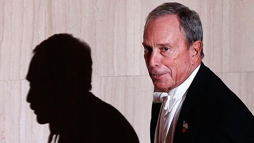 Мэр Нью-Йорка Майкл Блумберг. Фото AP/Jason DeCrow