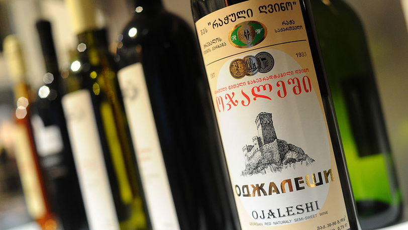 Грузинское вино Фото ИТАР-ТАСС/ Сергей Карпов