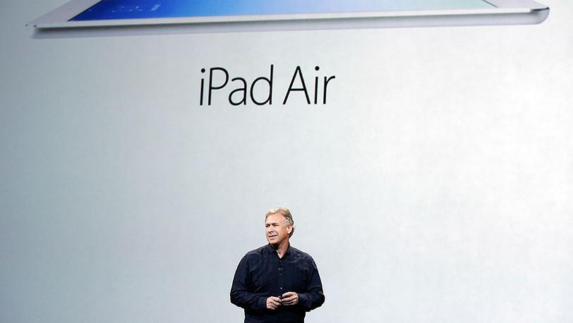 Вице-президент Apple по маркетингу Фил Шиллер во время презентации iPad Air в Сан-Франциско.Фото AP Photo/Marcio Jose Sanchez