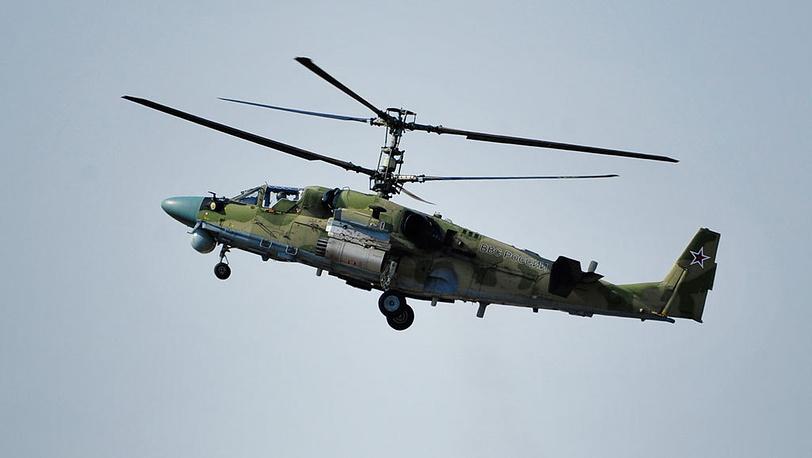 Вертолет Ка-52. Фото ИТАР-ТАСС/ Юрий Смитюк