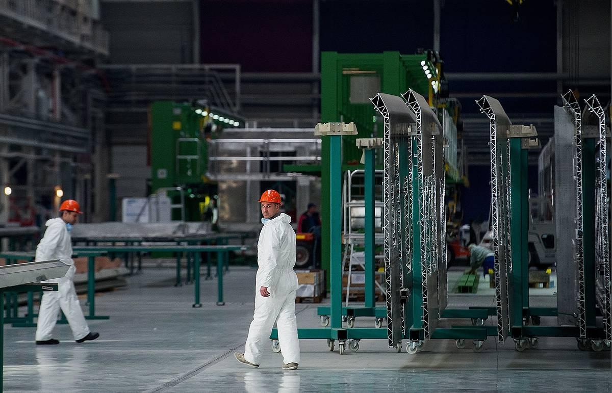 Siemens локализовал производство электровозов на Урале почти до 100%