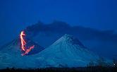 Извержение вулкана Ключевской. Фото Юрий Демянчук