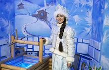 Снегурочка у колодца с голубой водицей — здесь загадывают заветные желания