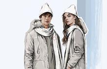Эскиз формы российских спортсменов на Олимпиаде 2018 года