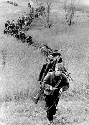 Движение 3-й Ленинградской  партизанской бригады. 1943 г.