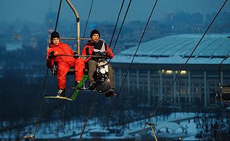 Воробьевы горы. Фото ИТАР-ТАСС/ Валерий Шарифулин