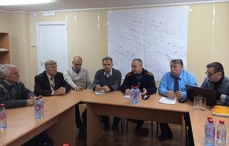 Представители УГМК встретились с группой ученых из числа казачества в Новохоперском районе Воронежской области