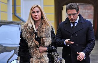 Адвокат Александр Карабанов и гражданская супруга Сергея Полонского Ольга Дерипаско