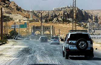 Фото ИТАР-ТАСС/ EPA/ SANA HANDOUT
