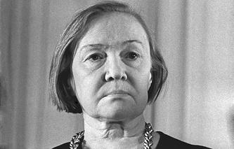 Ольга Берггольц, 1970 г.