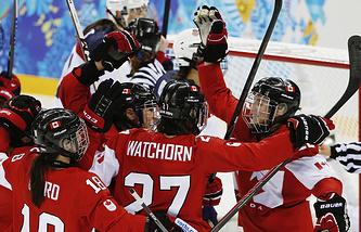 Женская сборная Канады по хоккею