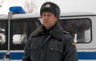 Лейтенант полиции Сергей Ильиных