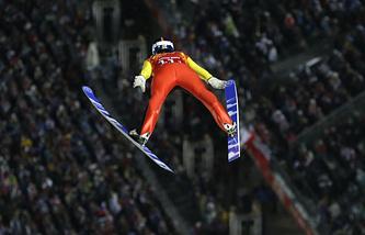 Спортсмен сборной Германии Андреас Ванк