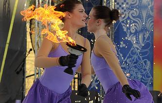 Огонь Паралимпийских игр в Сочи