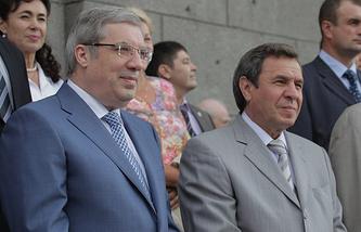 Виктор Толоконский и Владимир Городецкий (слева направо)