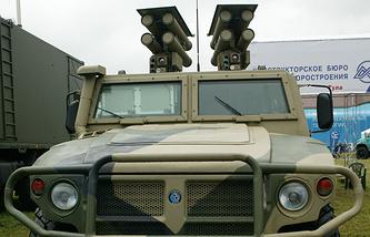 """Противотанковый ракетный комплекс """"Корнет"""" на бронированном автомобиле """"Тигр"""""""