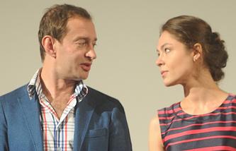 Константин Хабенский и Елена Лядова
