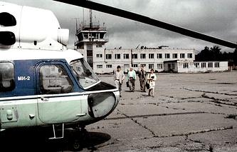 "Аэропорт ""Ржевка"", 2000 год"
