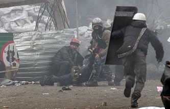 Киев. 20 февраля