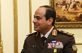 Экс-министр обороны Египта Абдель Фаттах ас-Сиси