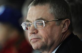 Президент КХЛ Александр Медведев
