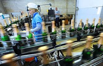 """Московский завод шампанских вин """"Корнет"""""""