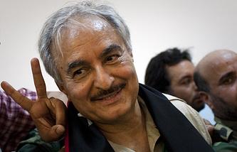 Халифа Хафтар. 18 марта 2011