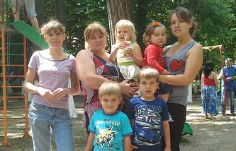 Украинские беженцы в Ростове-на-Дону