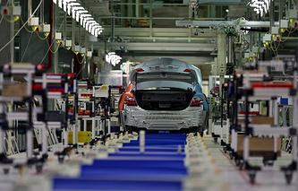 Автомобильный завод Toyota в Санкт-Петербурге