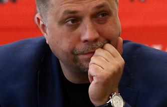 Премьер-министр самопровозглашенной Донецкой народной республики Александр Бородай