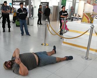 Матусов в аэропорту Бангкока