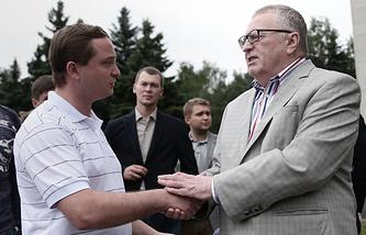 Роман Худяков и Владимир Жириновский