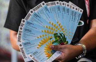 Билеты на ЧМ-2014