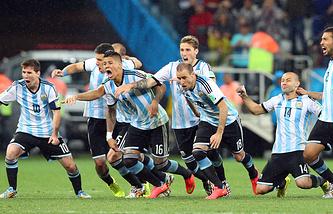 Аргентинцы победили в серии послематчевых пенальти со счетом 4:2