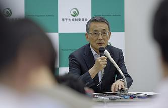 Глава управления по ядерной энергетике Японии Шуничи Танака