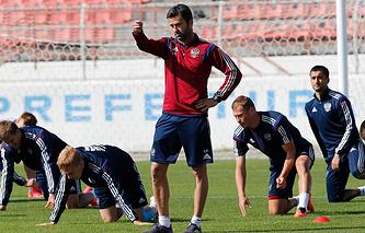 Кристиан Пануччи (в центре)