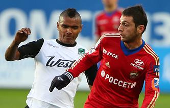 Вандерсон и Алан Дзагоев