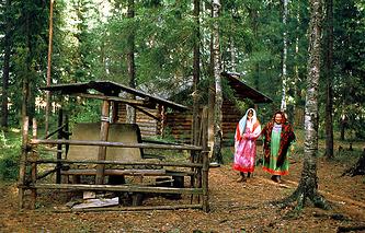 Этнографический музей манси под открытым небом в поселке Сосьва